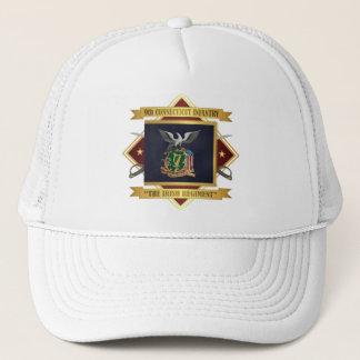 9. Freiwillige Infanterie Connecticuts Truckerkappe