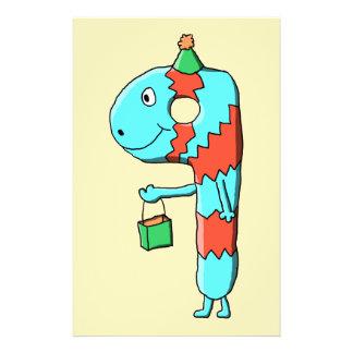9. Geburtstags-Karikatur Custom Flyer