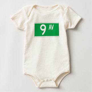 9. Handels, New- YorkStraßenschild Baby Strampler