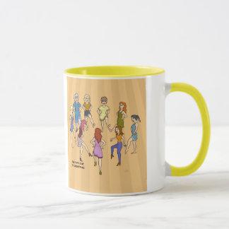 9. Tag Tasse der Weihnachten(neun tanzende Damen)