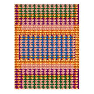 9TEMPLATE färbte einfach TEXT- und BILD-Geschenke Postkarten