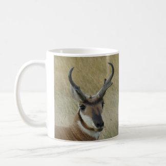 A0005 Pronghorn Antilope Kaffeetasse