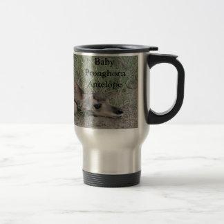 A0006 Pronghorn Antilope Reisebecher