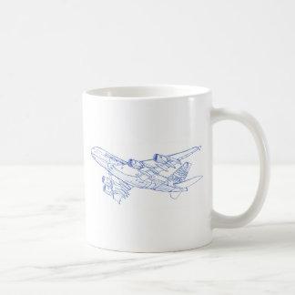 A380 Airbus Kaffeetasse