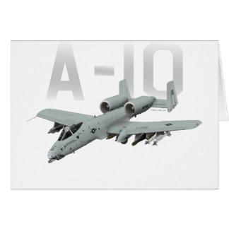 A-10 Thunderbolt II Karte