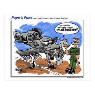 A-10 Warthog Postkarte