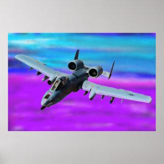 A-10 WHART SCHWEIN POSTER
