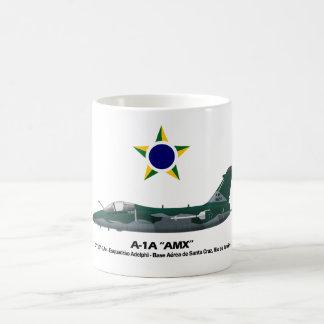 A-1A ,(AMX), Profil Brasilianische Luftwaffe Kaffeetasse