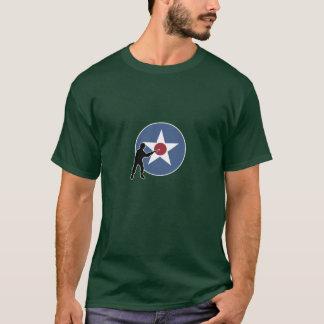 A&A USA Land-Markierung und Infanterie T-Shirt