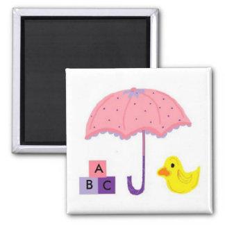A, B, c-Baby Quadratischer Magnet