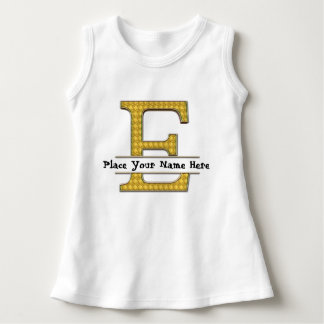 A bis z-Alphabet-Baby-Sleeveless Kleid