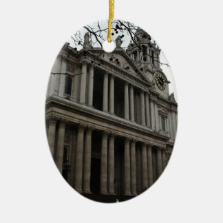 A church in London, Photography Keramik Ornament