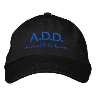 A.D.D. Felsen gestickte Kappe Bestickte Baseballkappen