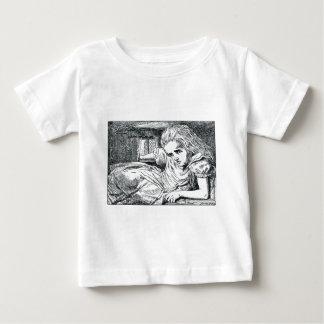 A; Eis voll gestopft in einem Haus Baby T-shirt