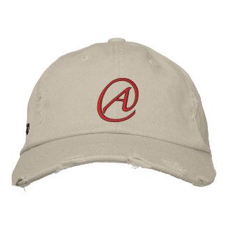 A ist für Atheisten Bestickte Kappe