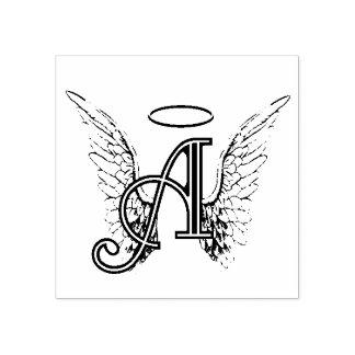 A ist für Engel Gummistempel