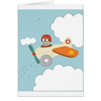 A ist für Flugzeug Karte