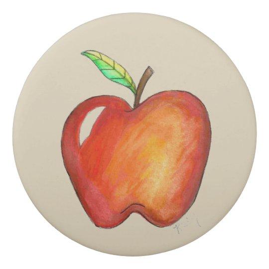 A+ Lehrer roter Apple zurück zu Radiergummis 0