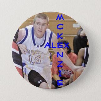 A. McKenzie 15 Runder Button 7,6 Cm