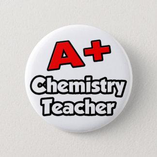 A plus Chemie-Lehrer Runder Button 5,1 Cm
