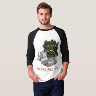 A+ Reihen-Motor-T - Shirt