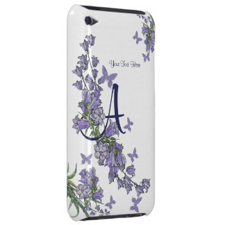 A - Reizendes blaues Bell- u. Barely There iPod Case