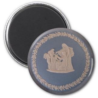 a runder magnet 5,7 cm