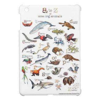A-Z der fantastischen Tiere iPad Mini Hülle
