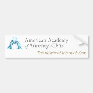 AAA-CPA Autoaufkleber