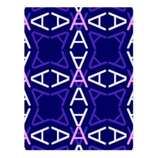 AaParade Blau-Dämmerung Postkarte