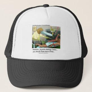 Aardvark-Zahnheilkunde-lustige Geschenke u. Truckerkappe