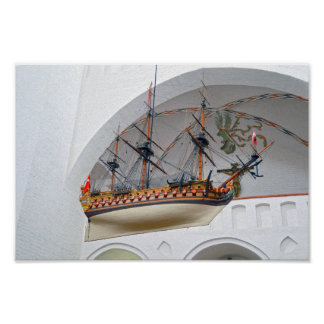 Aarhus-Kathedralen-Votive Schiff Poster