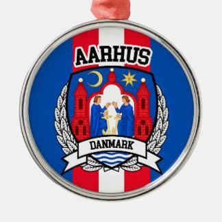 Aarhus Silbernes Ornament