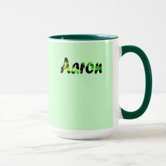 Aaron-Jäger-Grün-Kaffee-Tasse Tasse