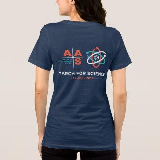Aas + März für Wissenschaft; Heben Sie, Marine auf T-Shirt