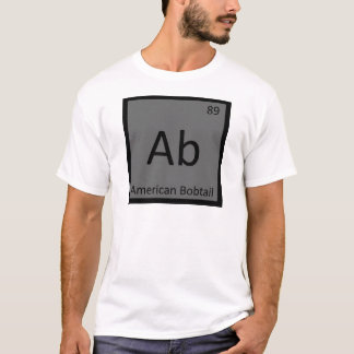 AB - Amerikanisches Bobtail Chemie-Periodensystem T-Shirt