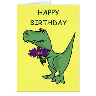 AB, T-Rex Geburtstags-Karte