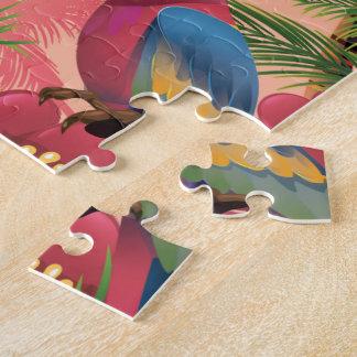 Abakus-Inselferienplakat Puzzle
