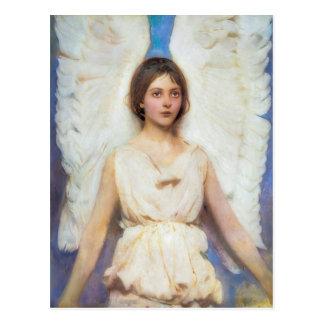 Abbott Handerson Thayer Vintager Engel Postkarte