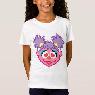 Abby lächelndes Gesicht mit Herz-Förmigen Augen T-Shirt
