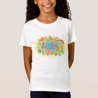 Abby NamensT - Shirt gerahmt im Spaß-Wirbel