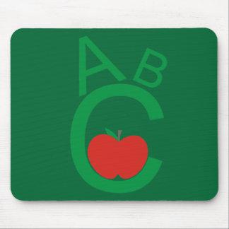ABC Apple Mousepad