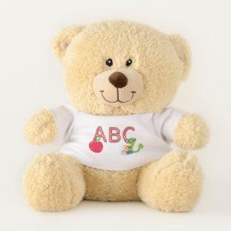 ABC-Bücherwurm-Teddybär Teddybär