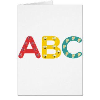 ABC durch PaddleDuck Karte
