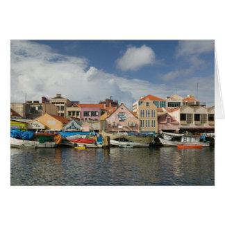 ABC-Inseln, CURAÇAO, Willemstad: Punda, Karte