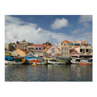 ABC-Inseln, CURAÇAO, Willemstad: Punda, Postkarte