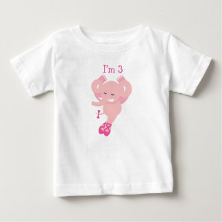 ABC-Tier-Geburtstags-T - Shirt-3. Geburtstag Baby T-shirt