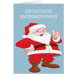 ABC-WeihnachtsSpaß Karte