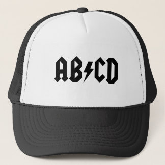 ABCD Fernlastfahrer-Hut Truckerkappe