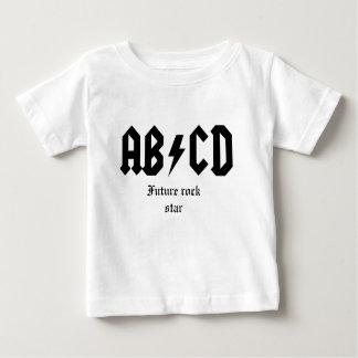 ABCD Zukunft-Rockstar Baby T-shirt